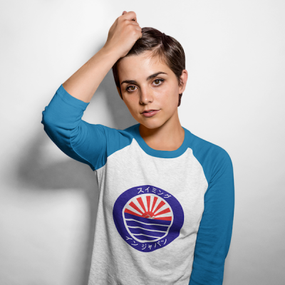 swimming in japan T shirt